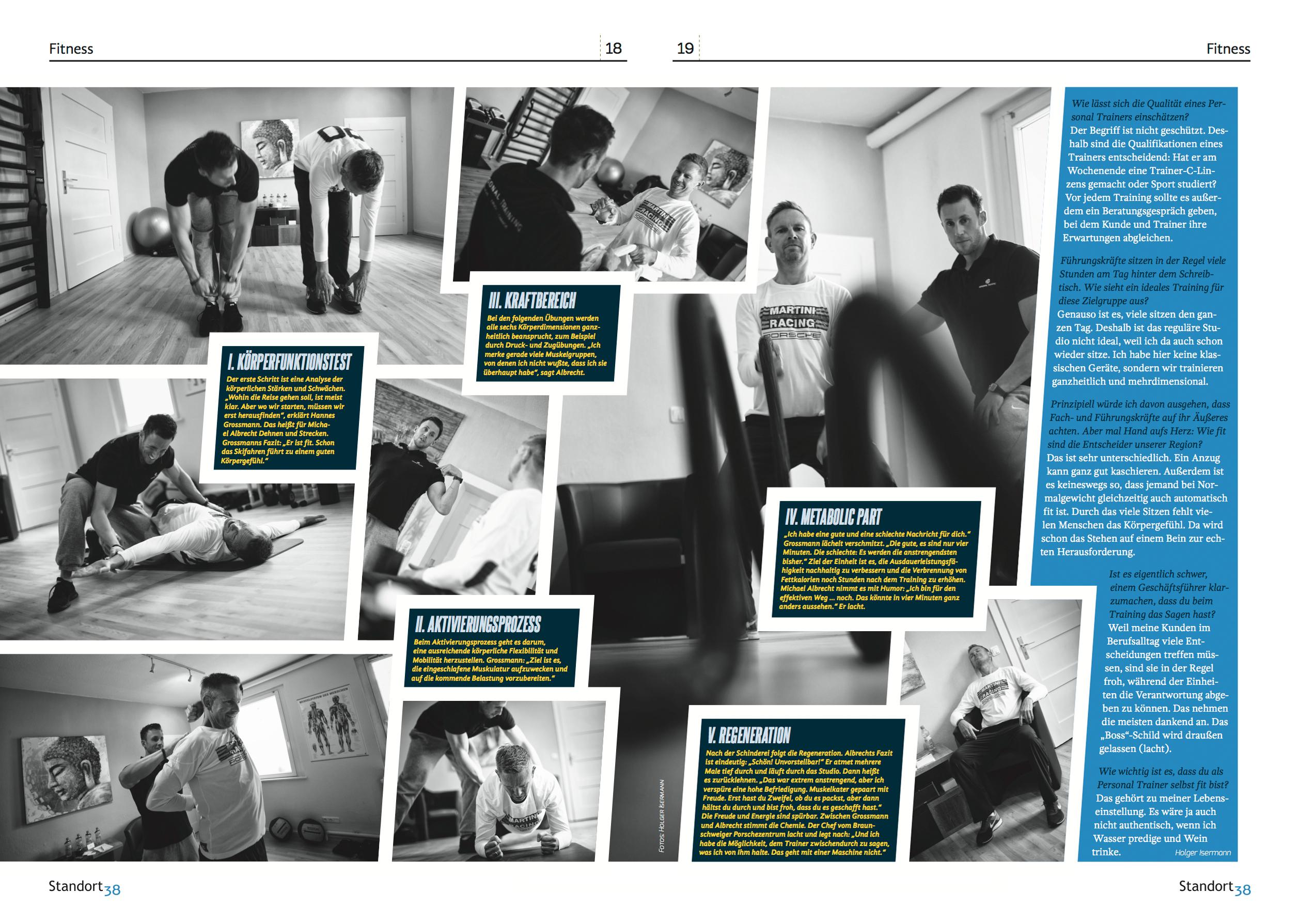 Personal Trainer Hannes Grossmann -Der Fitness-Experte aus Braunschweig im Standort38-Interview