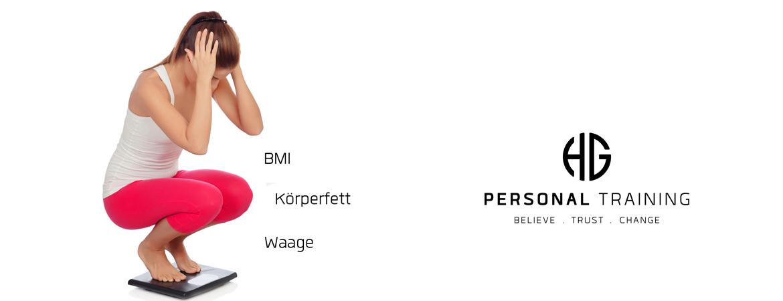 Körperfett - BMI - Abnehmen - Waage
